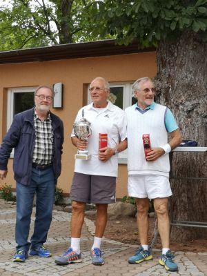 Wolfgang Lange mit den Siegern Seesen I: Gerhard Wagner, Wolfgang Bertram