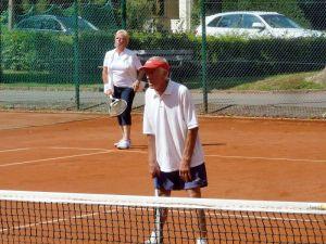 Die Akteure – hier Heidrun Lohrengel und Ludwig Spreng.
