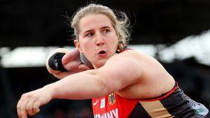 Lena Urbaniak bei der Europameisterschaft 2016 in Amsterdam. (Foto: Peter Salzer)