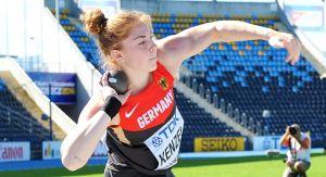 Alina Kenzel wurde 2016 im polnischen Bydgoszcz U20-Weltmeisterin. (Foto: Peter Salzer)