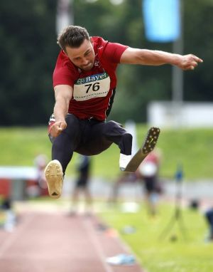 Ein echter Star des Behindertensports: Heinrich Popow. (Foto: Mika Volkmann)