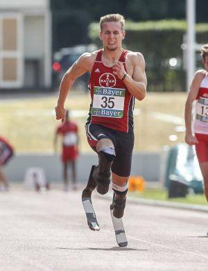 Hat nachgemeldet: Paralympics-Sprinter Johannes Floors. (Foto: Mika Volkmann)