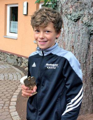 Sieger U12: Max Kröger.
