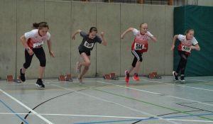 Die jungen Sportler waren mit viel Ehrgeiz am Start...