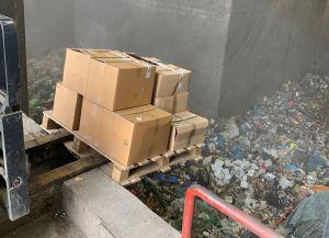 ...in der Müllverbrennungsanlage TRV Buschhaus...