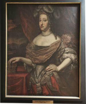 Sophie Amalie von Braunschweig-Lüneburg wurde am 24. März 1628 auf Schloss Herzberg geboren.