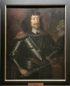 Friedrich III., auch: Frederik III., König von Dänemark und Norwegen von 1648 bis 1670. Fotos: Förderverein Schloss Herzberg