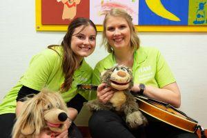 Nicole John (links) und Nadja Benndorf sind die Initiatorinnen der Idee und Vorstand des Vereins Kinderklinikkonzerte e.V.