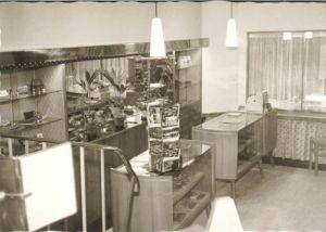 Der Verkaufsraum 1964