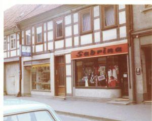 Die Ladenfront 1973