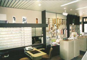 Der Verkaufsraum 1974
