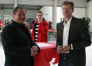Auch Ratsherr Erik Cziesla war zum Gratulieren gekommen