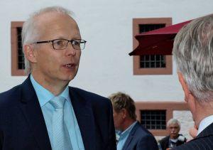 Vorstellung: Der CDU-Landratskandidat Prof. Dr. Ludwig Theuvsen nutzte die Gelegenheit, den Noch-Landkreis Osterode und seine Menschen besser kennenzulernen.