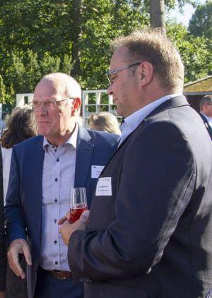 Vertraten neben ihren jeweiligen Firmen auch das Mekom Regionalmanagement: Vorstandsvorsitzender Dr. Rainer Beyer (links) und sein Stellvertreter Lars Obermann.
