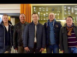 Beim MTV Osterode nahm Jens Augat an einer Sitzung des Vorstandes und des Hauptausschusses Teil.