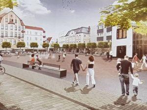 Ziel war, den Platz verkehrsfrei zu machen, damit es ein Ort ist, an dem sich Menschen gern aufhalten.