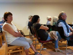 Die Zuhörer verfolgten aufmerksam, mit welchen Konzepten die Stadt Herford erfolgreich war.