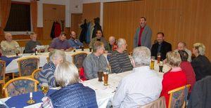 Uwe Speit hat das volle Vertrauen der Mitglieder. Er wurde einstimmig zum Vorsitzenden wiedergewählt.