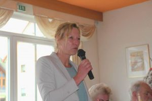"""Birgit Vahldiek vom Landesverband: """"Die Themen von damals sind die Themen von heute"""""""