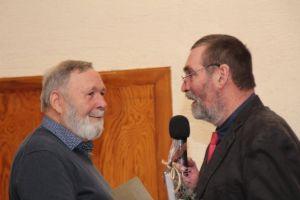 Gerd Johnen, der langjährige Abteilungsleiter Prellball, wurde verabschiedet...