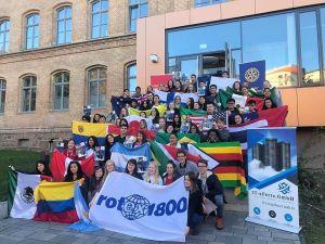 Rotary organisiert für alle Jugendlichen, die für ein Jahr bei deutschen Clubs zu Gast sind, eine dreiwöchige Europatour. (Foto: Rotary Club)