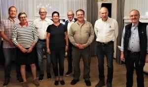 Anwesende Mitglieder des aktuellen Vorstandes