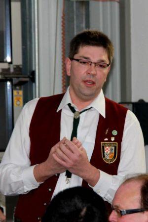 "Der 1. Vorsitzende des ""Waldarbeiter-Instrumental-Musikverein St. Andreasberg e.V."" Fabian Brockschmidt"