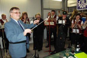Ehrendirigent: THW-Vorsitzender Klaus-Richard Behling