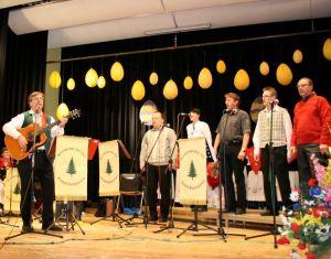"Horst Jäde mit den ""Lucky Singers"""