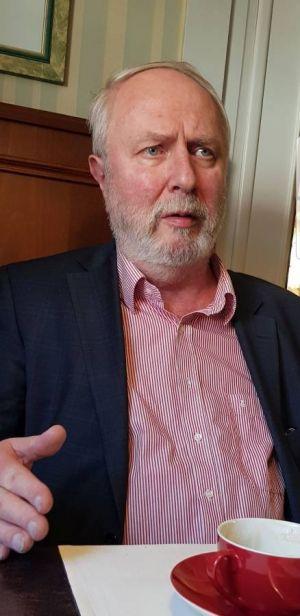Schaut immer noch verständnislos, wenn er an die Entscheidung für den Stop der Sanierungsarbeiten zurückdenkt: Rolf Lutze.