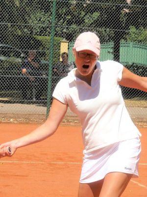 Tennispower von Kathrin Ließmann.