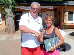 Platz 1 für Gisela Breitenstein.
