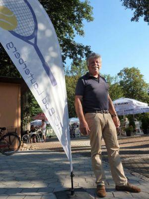 Der Vorsitzende Gero Fröhlich begrüßte alle Gäste persönlich