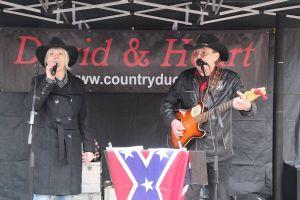 Das Country-Duo David & Heart sorgte für Stimmung