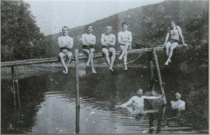 Frühere Lauterberger Generationen haben hier das Schwimmen gelernt.