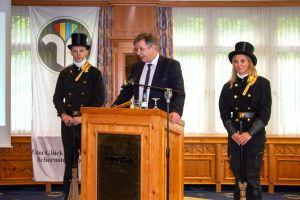 Landesinnungsmeister Stephan Langer begrüßte die Mitglieder und Gäste zum Landesverbandstag im Revita
