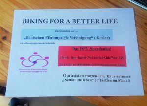 Das Ziel: Über die Selbsthilfegruppe Fibromyalgie Goslar informieren.