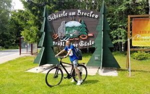 Die Tour führte den Bad Lauterberger auch durch Schierke.