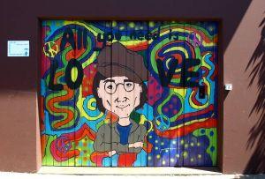 """""""Auf dem Garagentor darf es knallen."""" Mit John Lennon."""