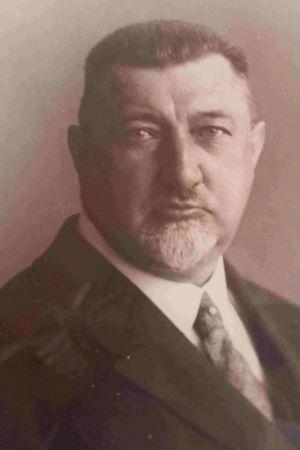 Heinrich Röger, einer der Befürworter und damaliger Bürgervorsteherworthalter.