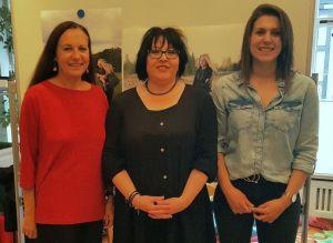 von links: Inge Holzigel, Dr. Sandra Bonetto und Denise Langner
