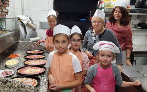 In der Küche der Pizzeria Taranto