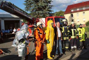 Ministerpräsident Stephan Weil besuchte im Sommer die Lauterberger Wehren