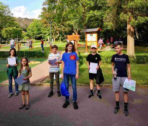 Jugendwertung: rechts Sieger Sean Mika Dittrich