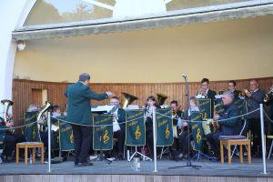 Das Blasorchester Sieber hatte nach längerer coronabedingter Pause...