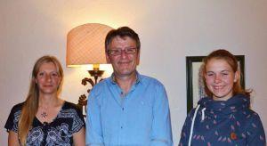 Katja Füldner, Roland Lange und Marie-Theres Morich