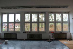 ...und Büroräume entstehen