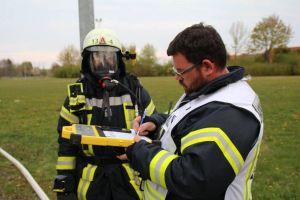 Überwachung der Atemschutzgeräte
