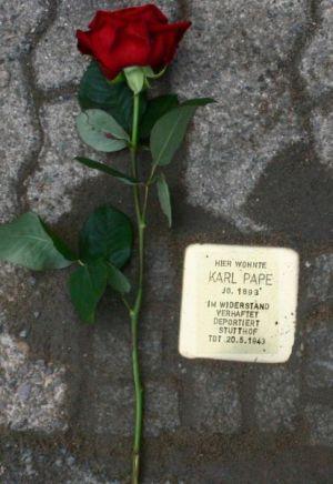 Zum Gedenken an Karl Pape