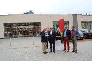 Ein Magnet für den Bad Lauterberger Boulevard - mit vielen eigenen Parkplätzen: Reuter zeigte sich von den bisherigen Erweiterungsmaßnahmen beeindruckt